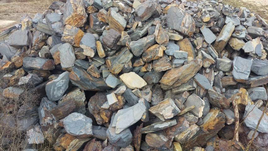 Slate rock 100-500mm
